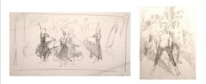 Thumbnail dance sketches