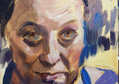Oil sketch – Self portrait