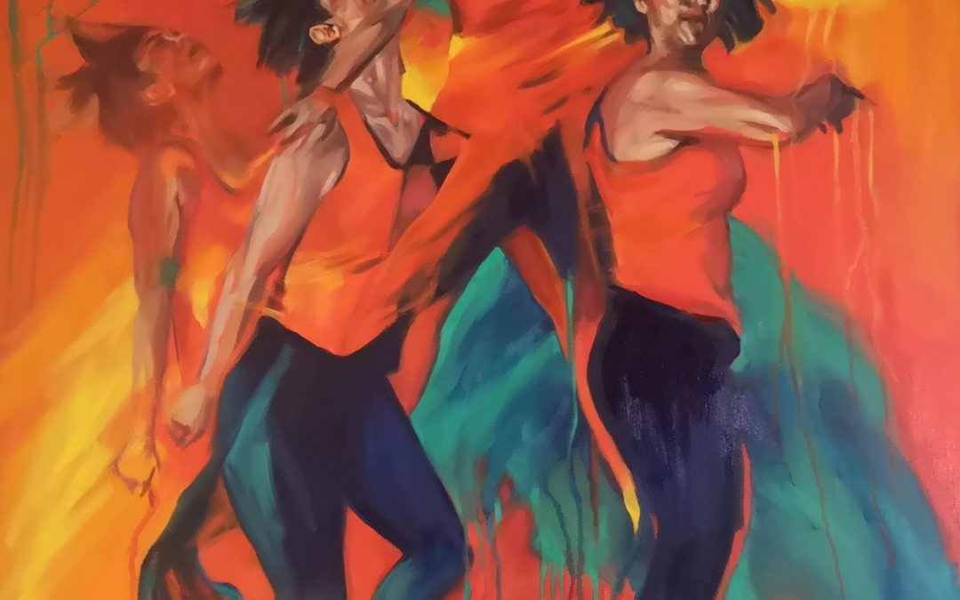 Developing and painting 'Bring the Fire'