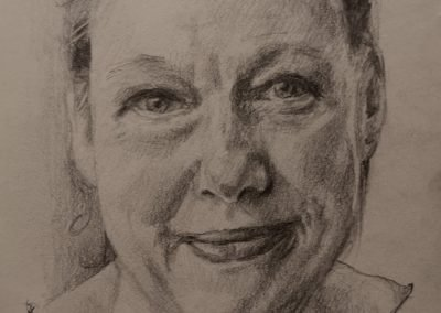 Jane – pencil on paper