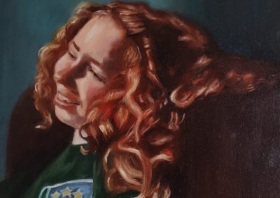 Girl with the red curls