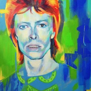 David Bowie - acrylic on canvas