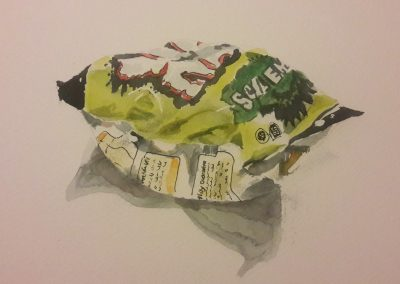 Niknaks – watercolour on paper