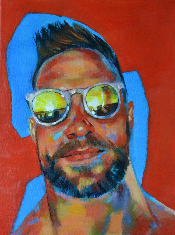 Jack – acrylic on canvas