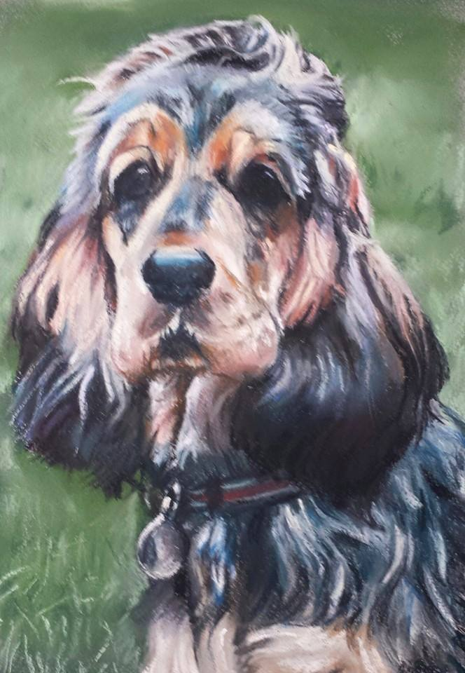 Katie – pastel on paper