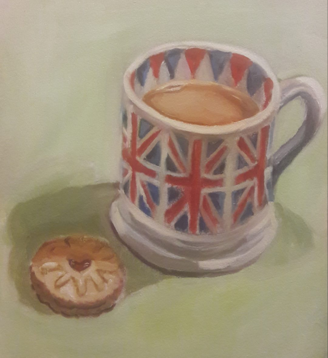 Cuppa and a biscuit