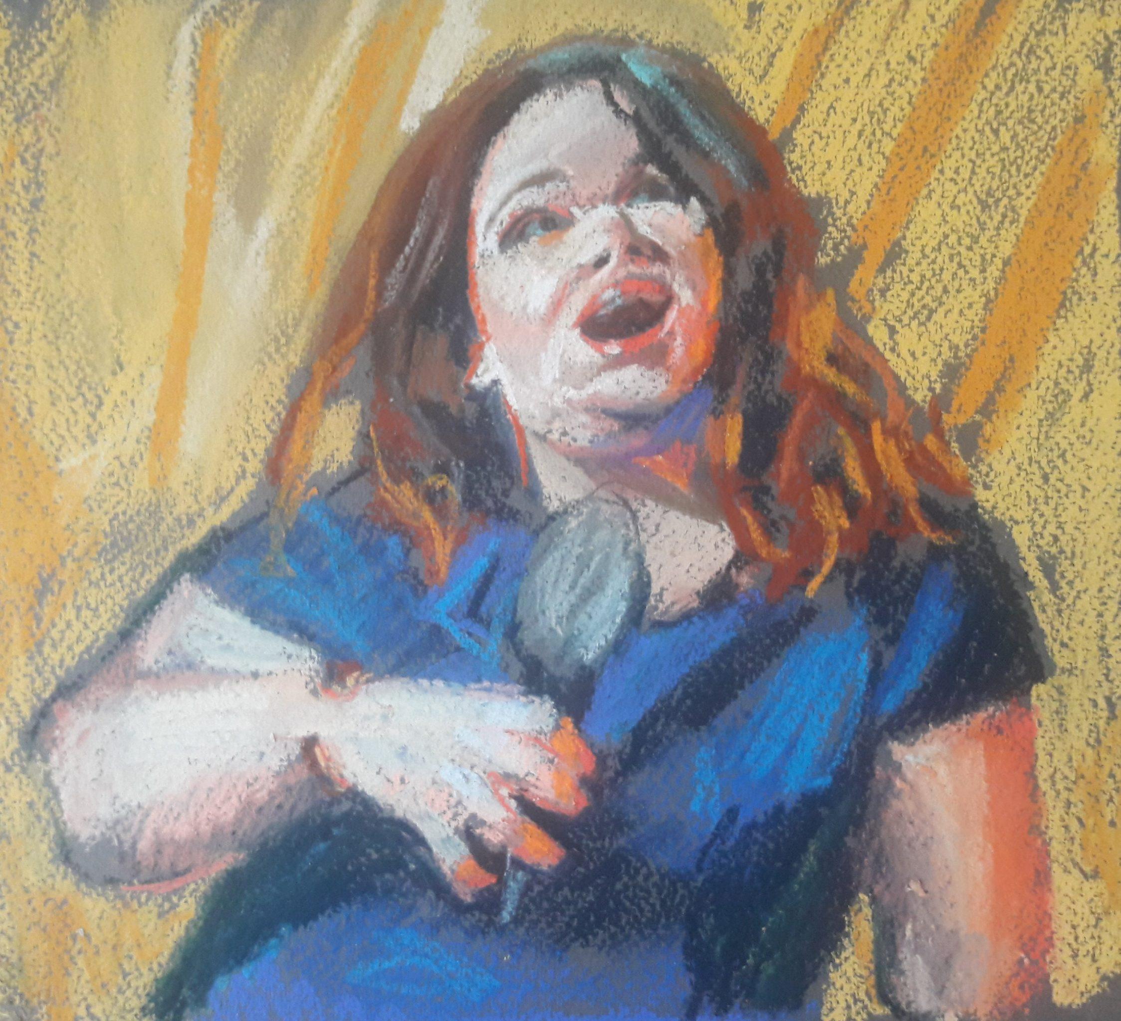 Prep sketch singer