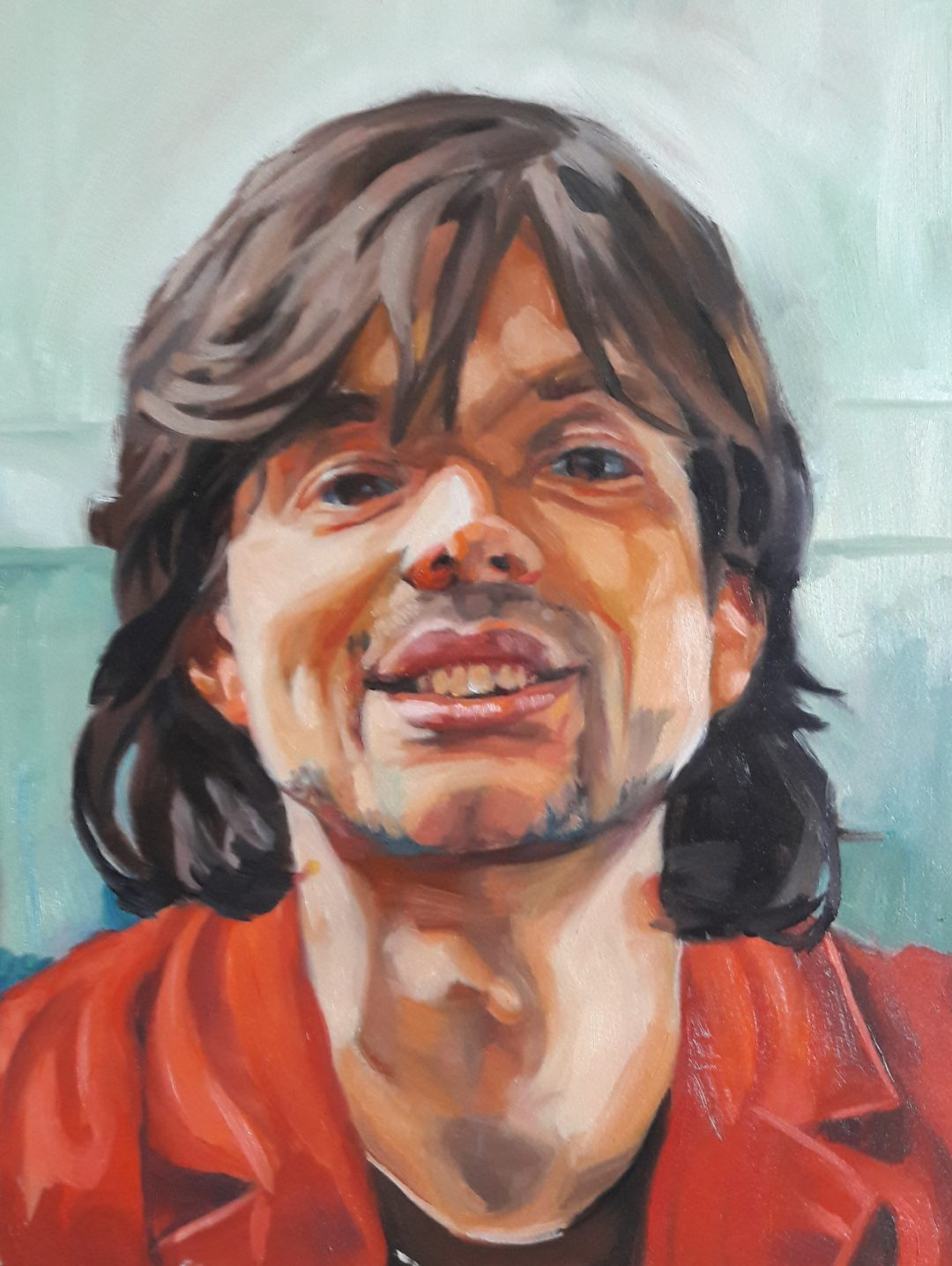 Tim – oil on paper