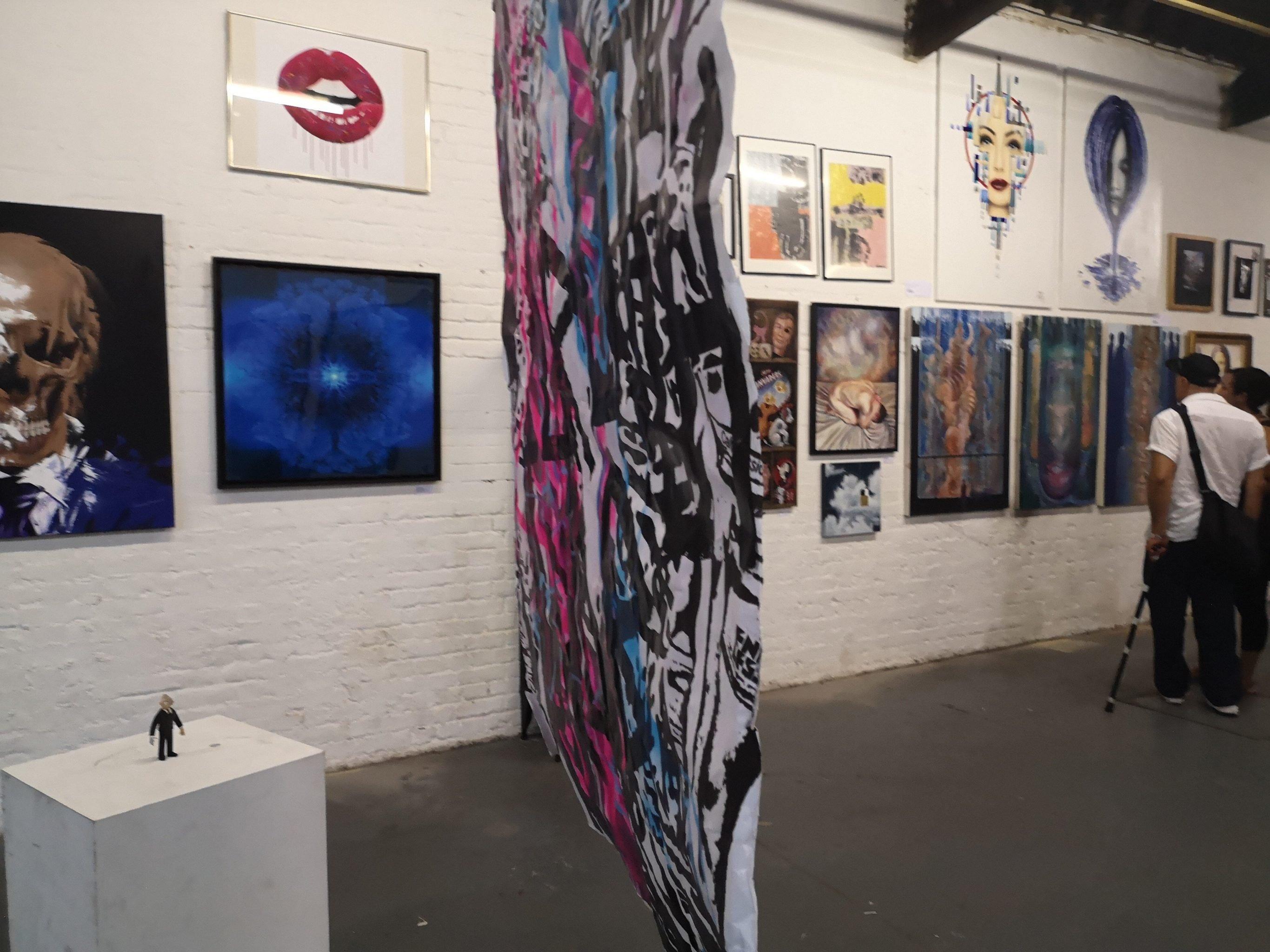 50/50 exhibition - August 2018