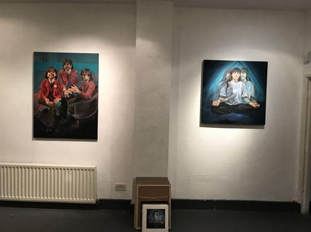 More paintings at Superpowers exhibition