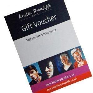 Gift voucher for Kristin Rawcliffe Art
