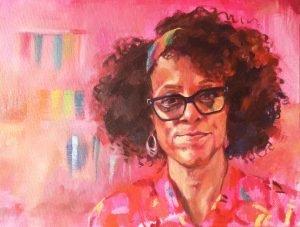 Bernardine Evaristo by Kristin Rawcliffe for PAOTW