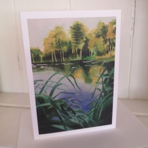 Wyndhams Pool greetings card