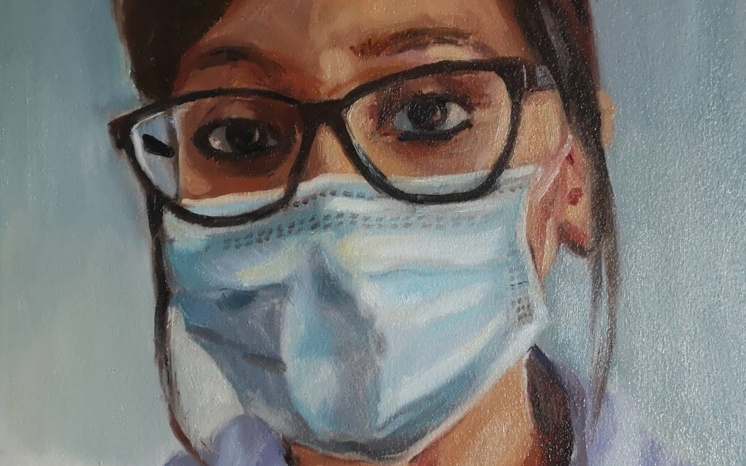 Portraits for NHS heroes
