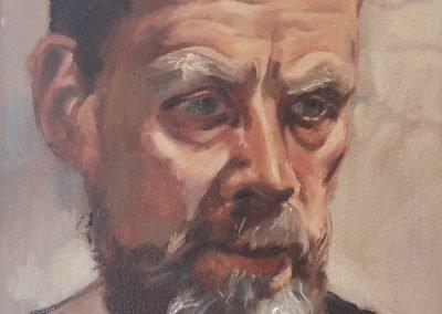 Self portrait with lockdown beard